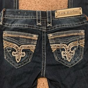 Rock Revival jeans.